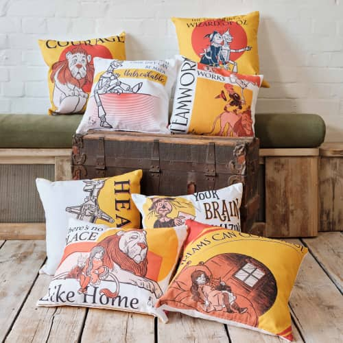 Welovecushions new collection Wizard of Oz
