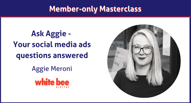 Aggie Meroni social media ads expert