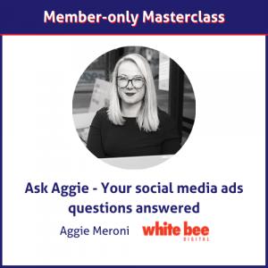 Aggie Meroni social media ads