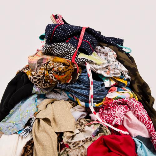 Fast fashion UK textile and fashion waste