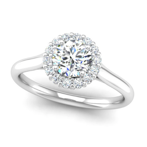 Jeweller's Loupe lap-grown engagement collection