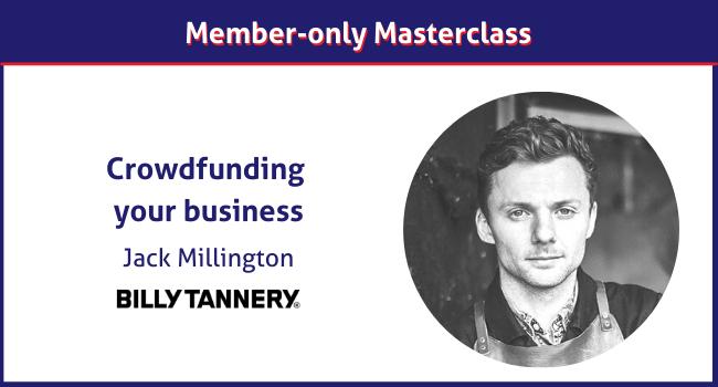 Jack Millington micro-factory business masterclass
